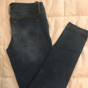 """mid-rise denim legging"" jeans/jeggings."